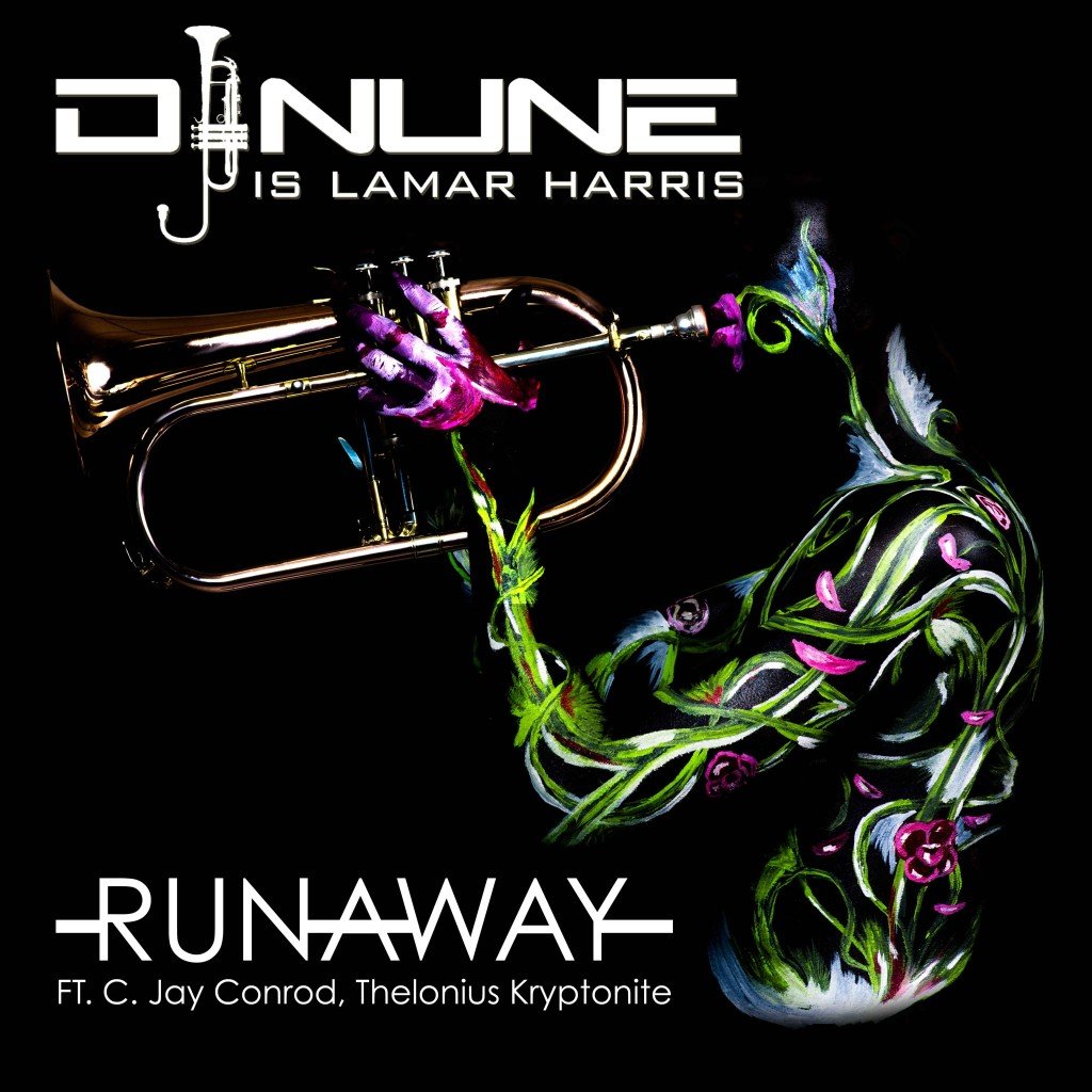 """RunAway"" by DJ Nune is Lamar Harris, available on Bandcamp now."